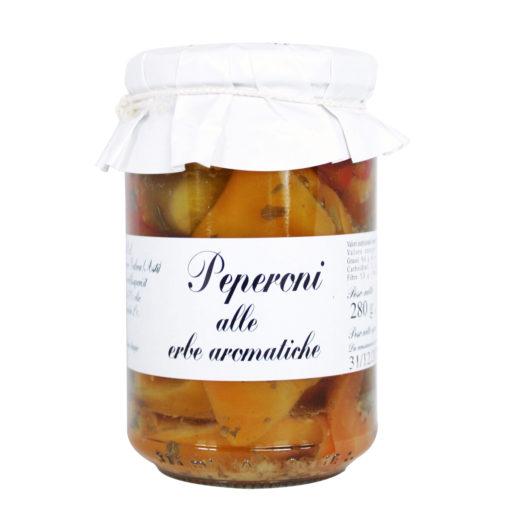 Scopri i peperoni sottolio alle erbe aromatiche. Gusta le tue basi pizza precotte preferite con ingredienti artigianali.