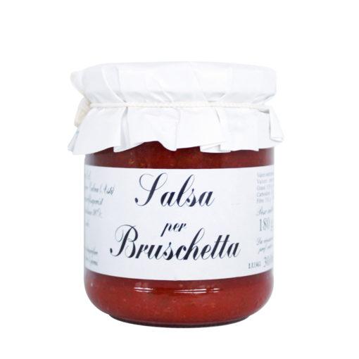 """Farcisci la tua base con la salsa """"La Bruschetta"""". Gusta le tue basi pizza precotte preferite con ingredienti artigianali."""